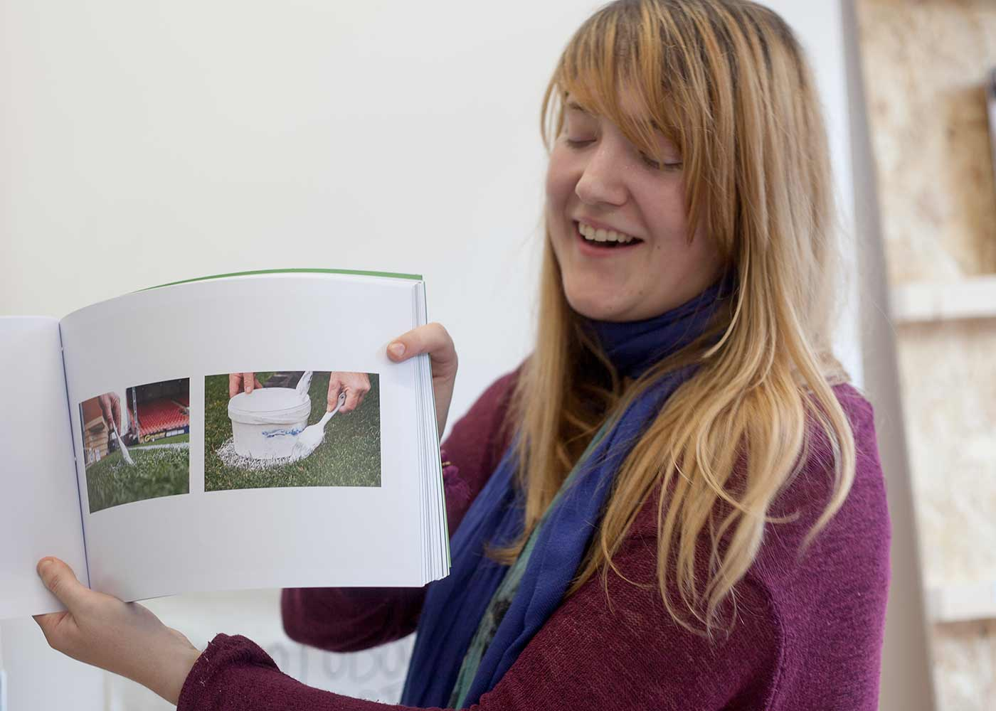 Emily Usher Amy Warwick has just graduated from the BA Photography at the University of East London; Emily presented her graduation photobook THE GROUNDSKEEPER