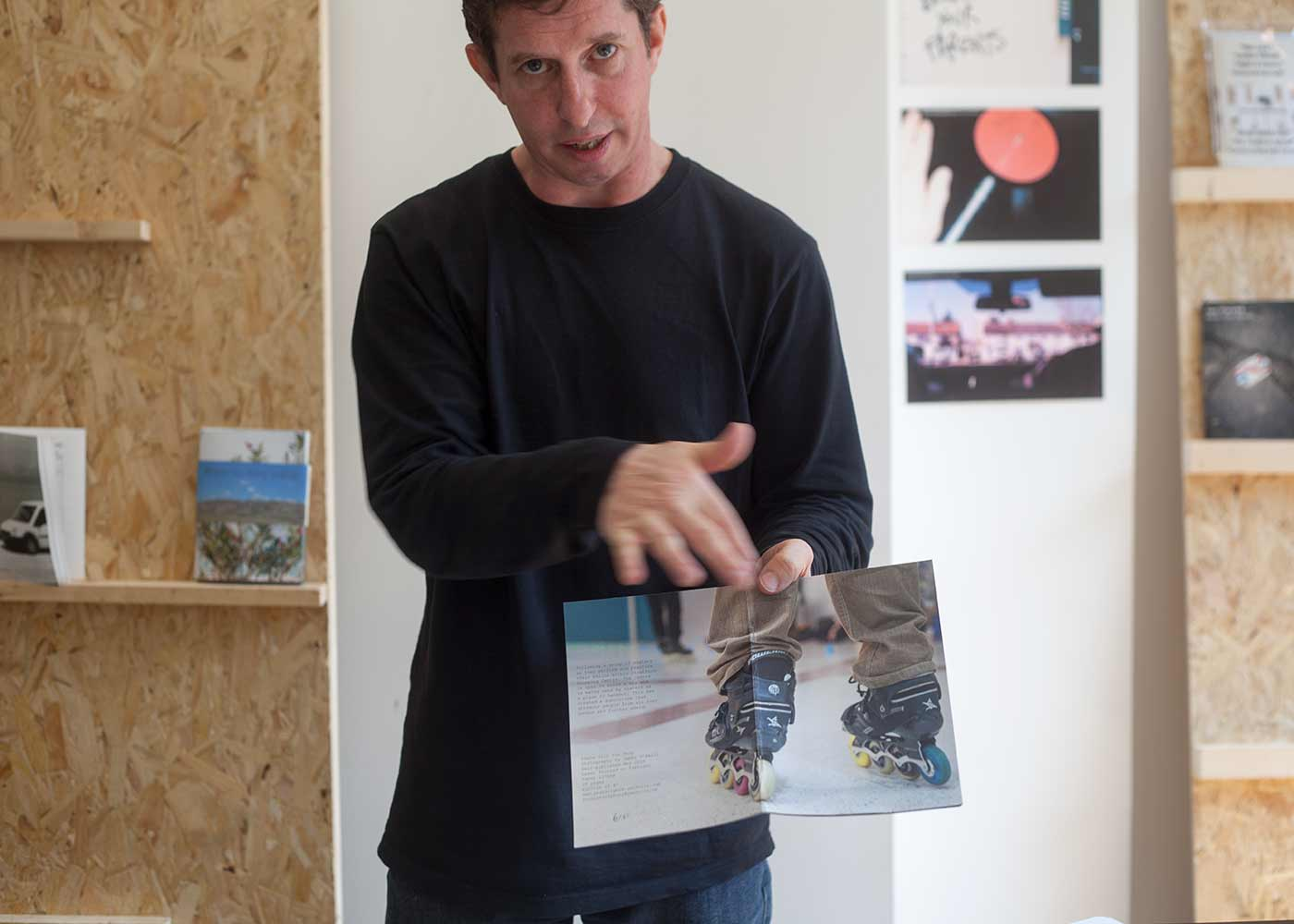 James O'Neill studies photography in the BA Photography (2nd year) at the School of Arts and Creative Industries, LSBU. James presented the new photobook SKATE 'TILL YOU DROP