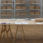 paula roush, found photo foundation: installation view at Dear Aby Warburg: What can be done with images? Dealing with Photographic Material, Museum für Gegenwartskunst Siegen, 2012–2013