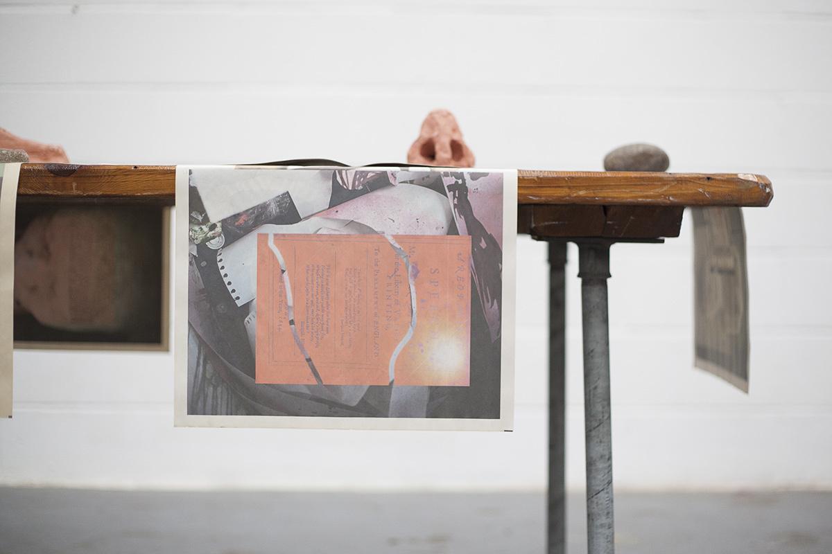 paula roush: Areopagitica (Milton's Nose), installation view, Herbert Read Gallery, Canterbury
