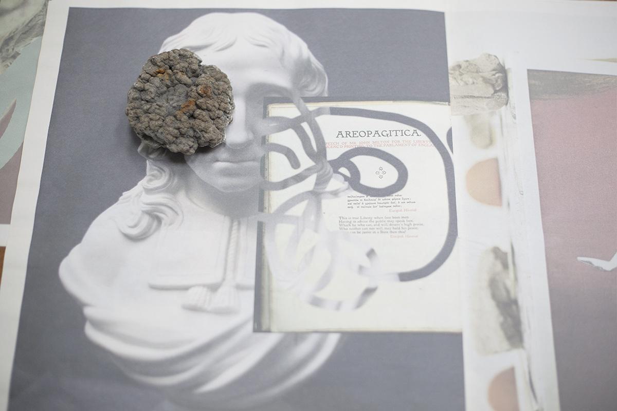 Areopagitica (Milton's Nose), installation view