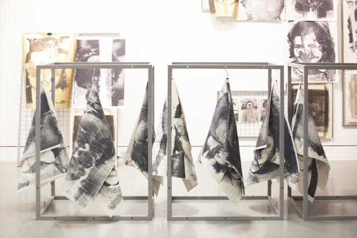 paula roush: Flora McCallica, exhibition view, Herbert Read Gallery, Canterbury