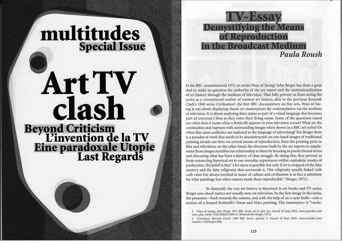 art-tv-essay